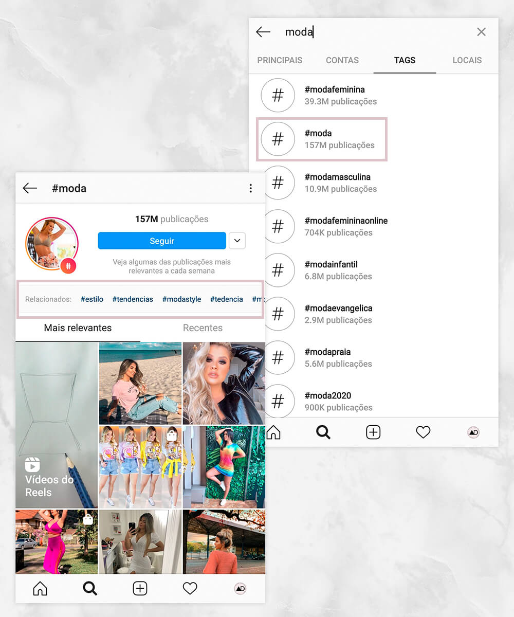 Como encontrar as hashtags corretas para usar no Instagram