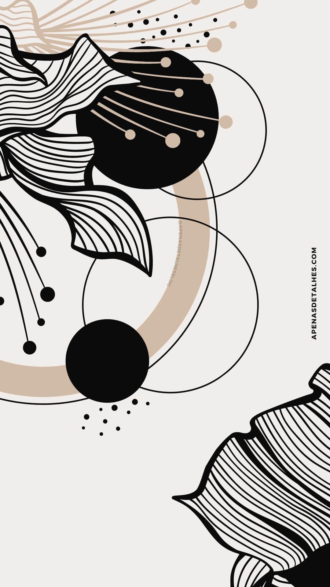 Wallpapers minimalistas grátis para celular